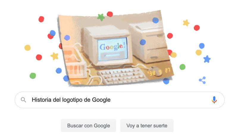 Historia del logotipo de Google