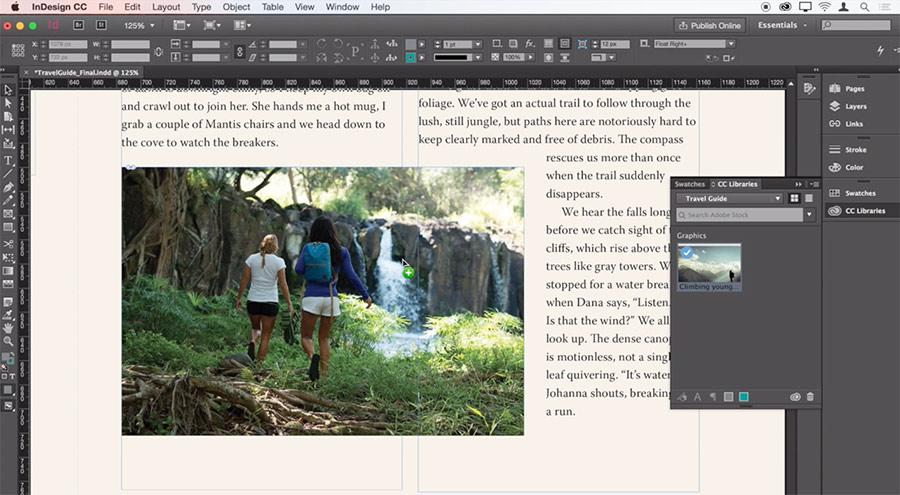 Qué es Adobe Indesign y para que sirve. Maquetación realizada con este programa de diseño.