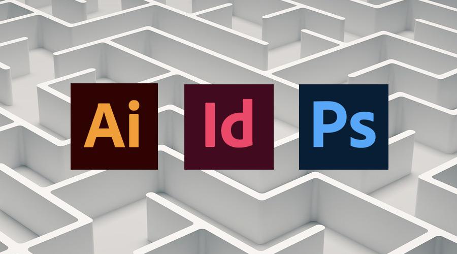 Cómo utilizar correctamente los programas de diseño Photoshop, Indesign, Illustrator.
