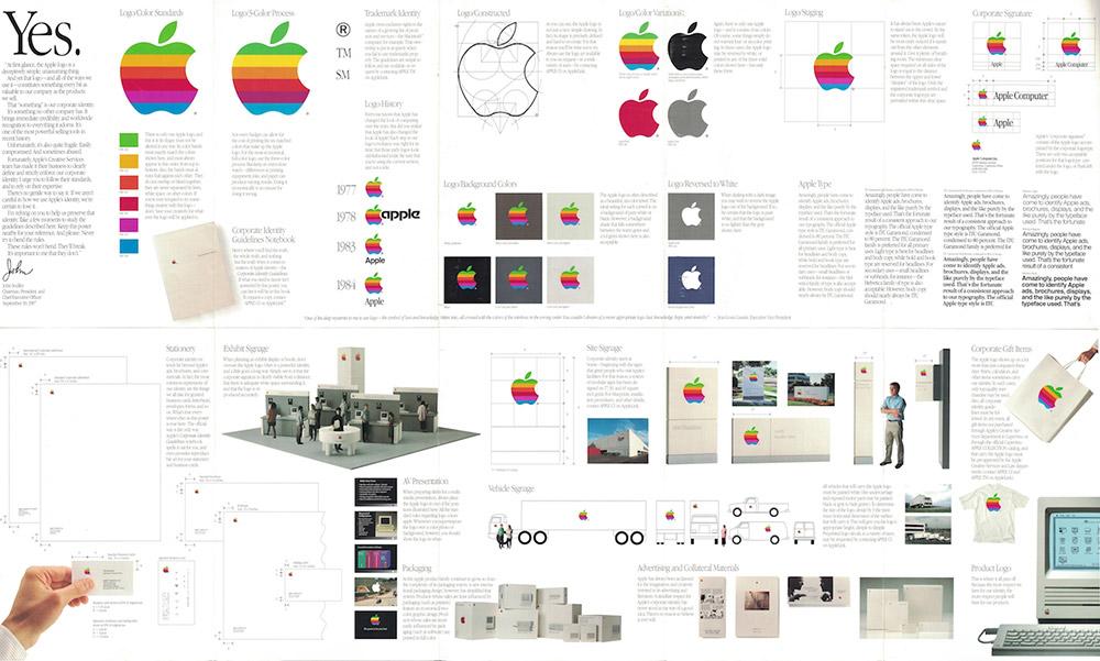 Manual de identidad corporativa de Apple