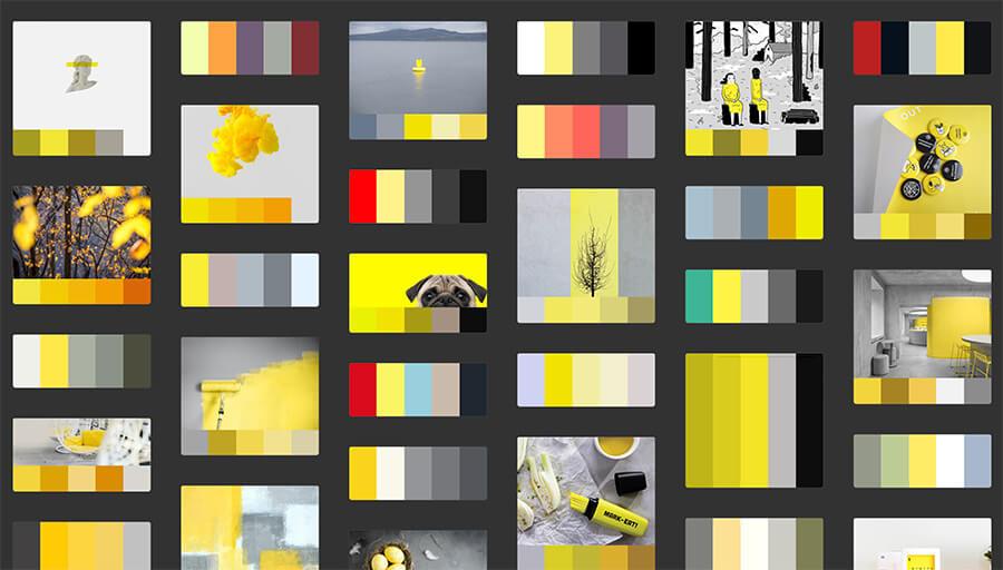 Generador online (Adobe Color) de paleta de colores.