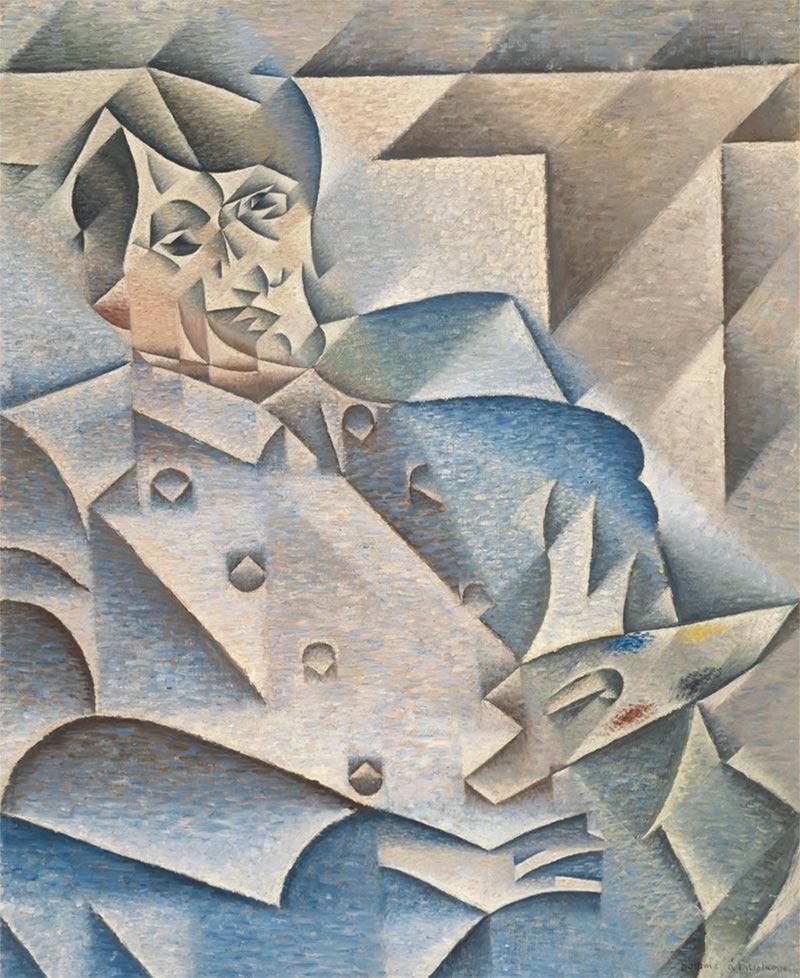 Cubismo - Retrato de Pablo Picasso.