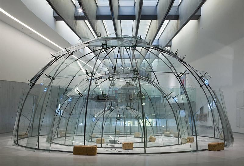 Instalaciones artísticas Mario Merz.